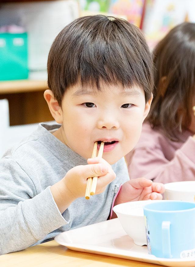 食べるイメージ:幼児のおやつ